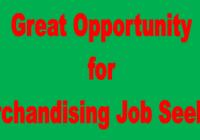 Merchandising Job