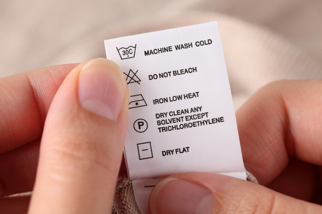 care label in garments