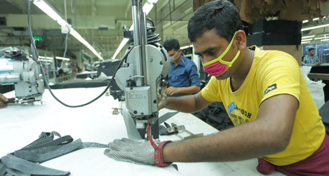 Cutting Section in Garments Industry