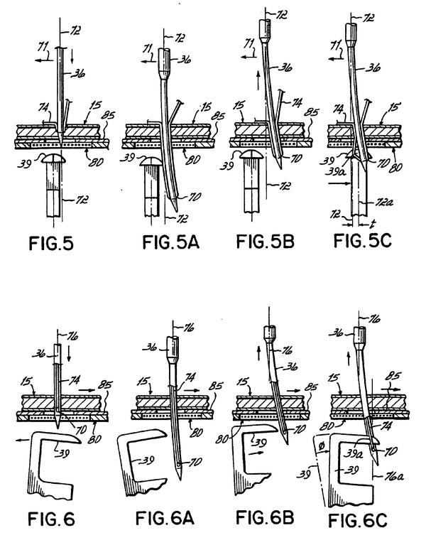 Chain stitch formation technique