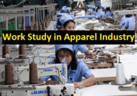 Work study in apparel industry